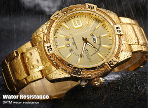 Wrath Royal Gold Day & Date Luxury Men's Watch