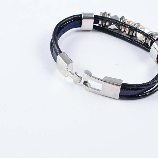 Classy Man of Steel Power Bracelet by Addic