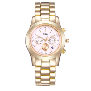 Addic Heritage & Charm Gold Women's Watch