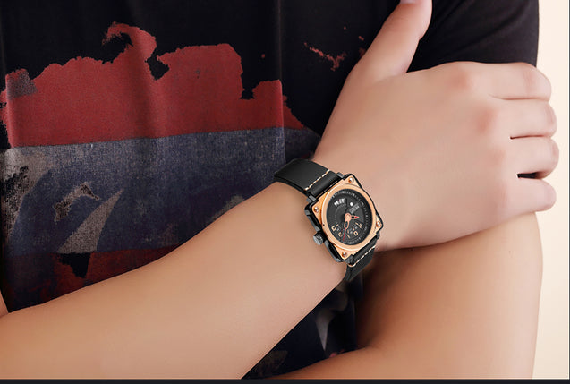 Megir Limited Edition Luxury Date Men's Watch.