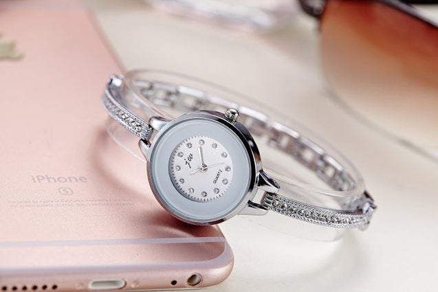 Addic Analogue White Dial Girl's & Women's Watch.