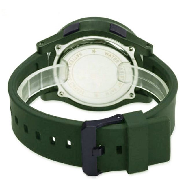 Skmei Digital Multi-functional Green Outdoor Sports Watch for Men's & Boys
