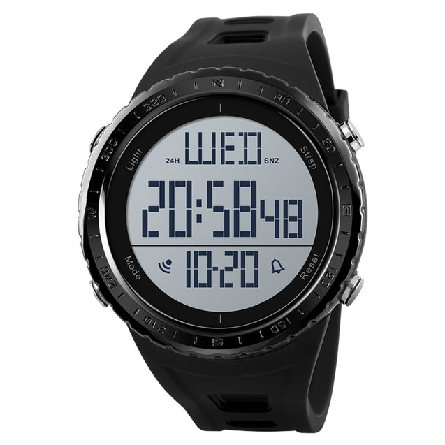 Skmei Black Digital Multifunctional Outdoor Sports Men's & Boys Watch.