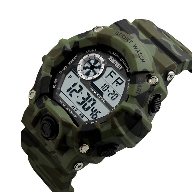 Skmei Digital Multicolor Dial Men's & Boy's Watch - Skmeimw70A