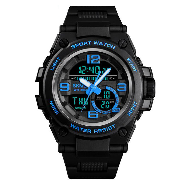 Digilog Techno Blue Digital & Analog Multi Function Watch for Men & Boys