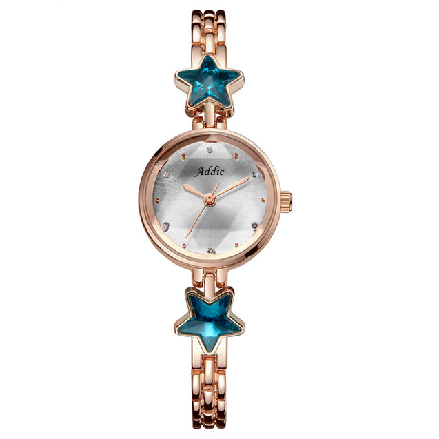 Addic Heritage & Charm Analogue Rose Gold Girls & Women's Watch