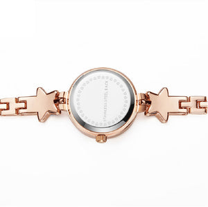 Addic Heritage & Charm Analogue Blue & Rose Gold Girls & Women's Watch.