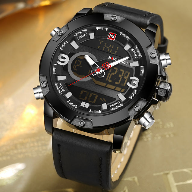 Naviforce CEO's Choice Analog & Digital Multi Function Luxury Watch(NF9097)