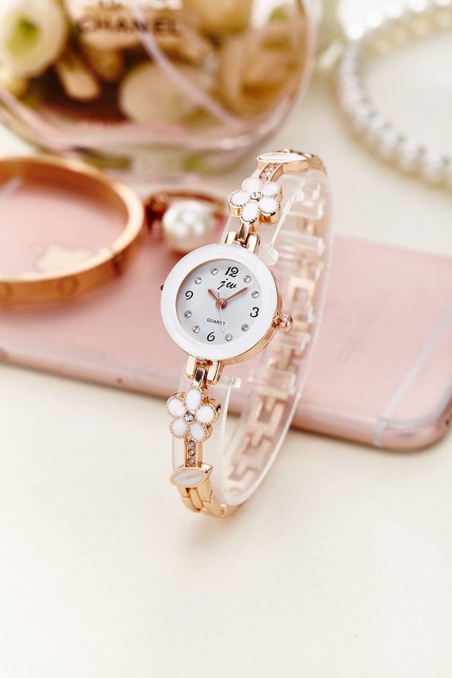 Addic Analogue White Dial Girl's & Women's Watch
