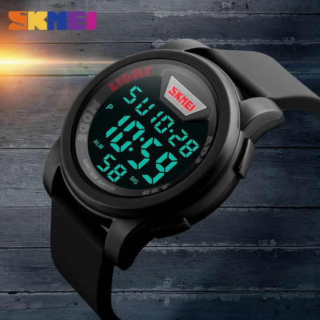 Skmei Digital Multi-functional Full Screen Sports Watch for Men's & Boys