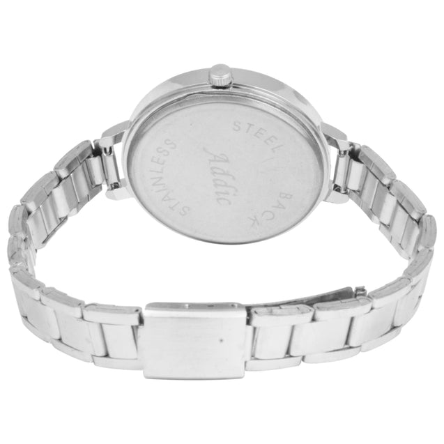 Addic Dreamnight Ultra Shine Silver Fashion Watch For Women