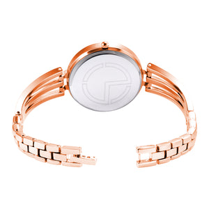 Modor Fashionista Rose Gold Wrist Watch For Women & Girls