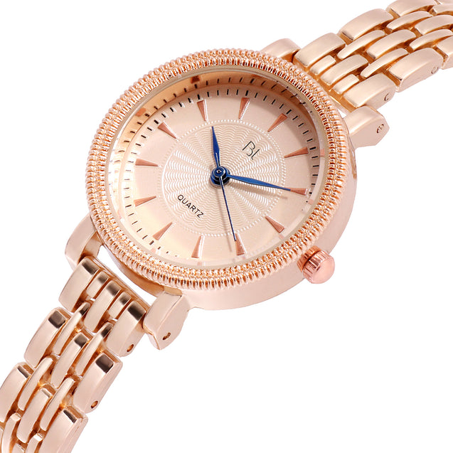 Addic BL Queen of Jewels Stunning Rose Gold Watch for Women & Girls.