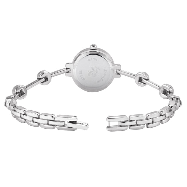 Addic BL Classic Charm Minimal Silver Watch for Women & Girls.