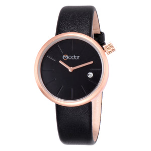Modor Show Stopper Black Ramp Walker's Watch For Women & Girls