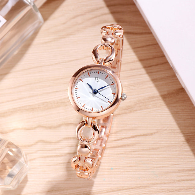 Addic BL Locked Links Lovely Rose Gold Watch for Women & Girls.