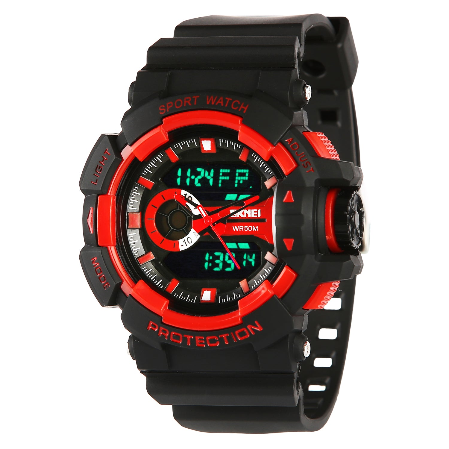 cdc4f528f78 Skmei Double Movement Multi-functional Analogue+Digital Boys   Men s Watch