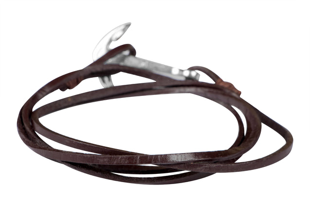 Addic Leather Hook Charming Bracelet