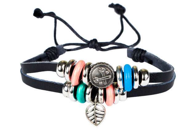 Addic Rings of Strength Bold Bracelet