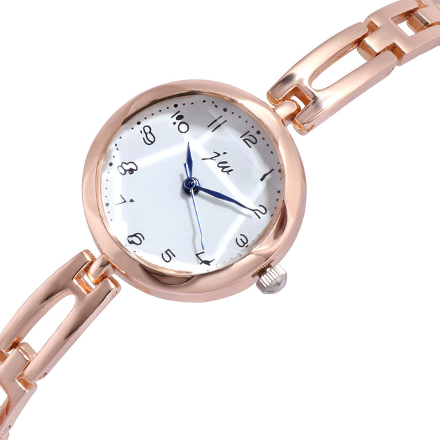 Addic Analogue White Dial Women's & Girl's Watch