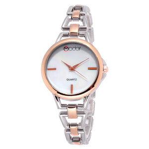 Modor Fashionista Dual Color Formal / Casual / Party Wear Multi Purpose Wrist Watch For Women & Girls