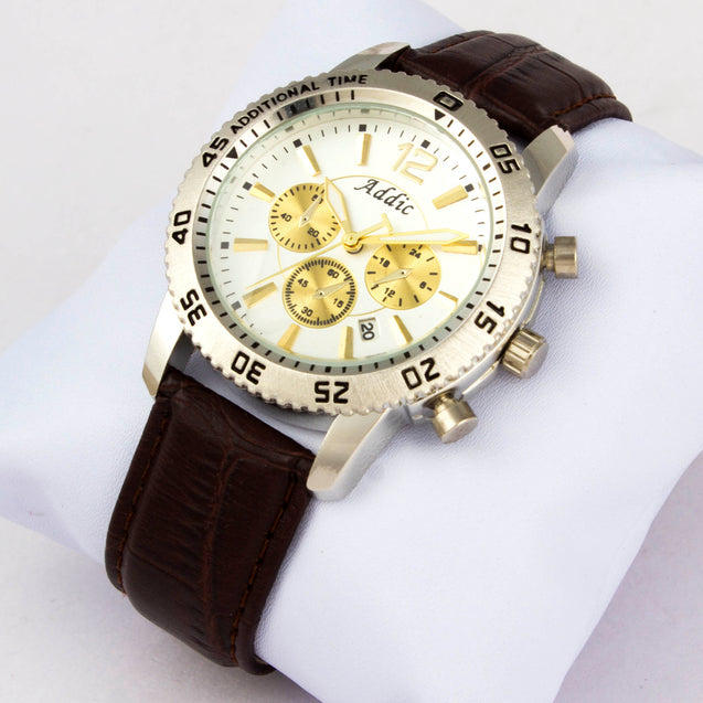 Addic English Watchsmith's Vintage Styled Men's Luxury Watch