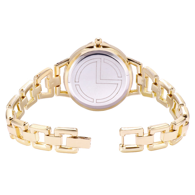 Modor Fashionista Gold Formal / Casual / Party Wear Multi Purpose Wrist Watch For Women & Girls