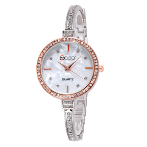 Modor Princess Jewels Dual Color Formal / Casual / Party Wear Multi Purpose Wrist Watch For Women & Girls