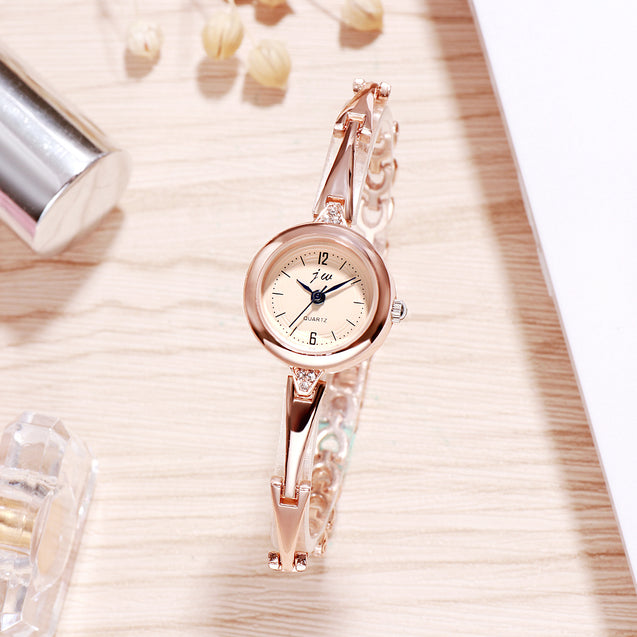 Addic Classic Charm Minimal Rose Gold Watch For Women & Girls