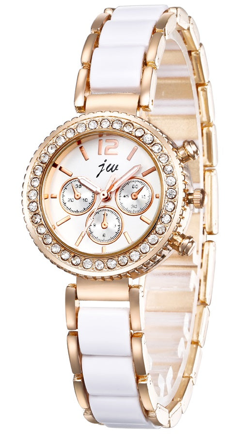 Addic Ceramic Senses Rose Gold Girls & Women's Watch.