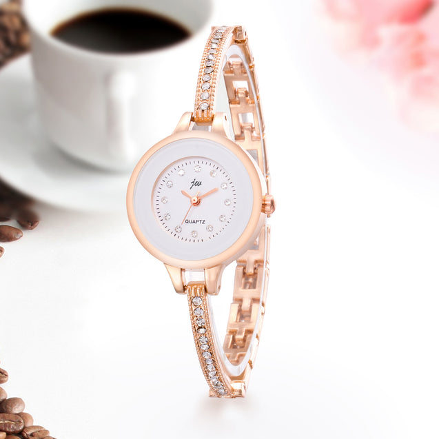 Addic Beauty With Ethnic Touch Rose Gold Women's Watch