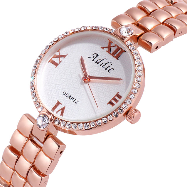 Addic Pebbles Wristwatch for Women & Girls.