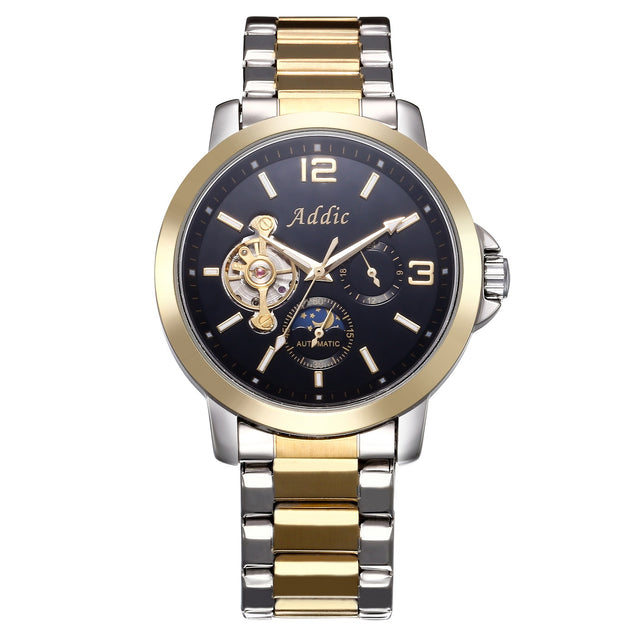 Addic Chancellor Luxury Mechanical Watch (Without Battery For Life!)