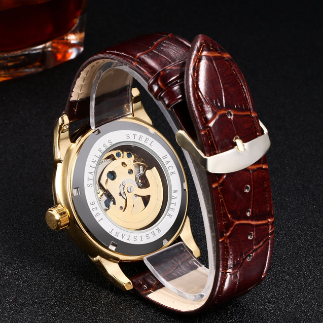 Winner Luxury Metal Mechanical MW003 Watch for Men! (Without Battery for Life!)