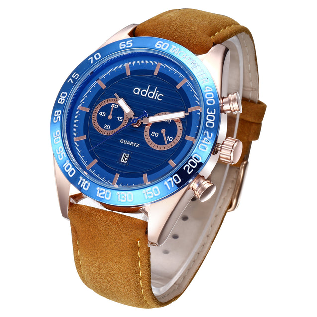 Addic Rugged Blues Macho Men's Watch