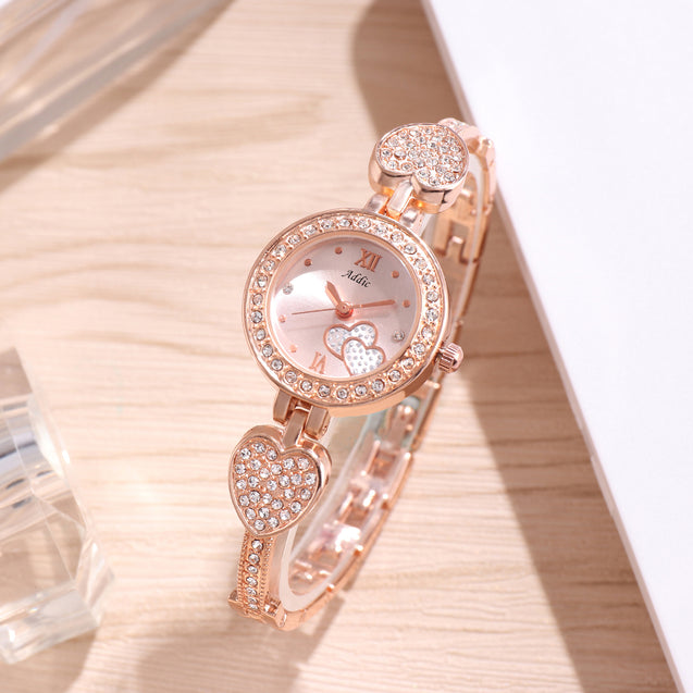 Addic Together Forever Rose Gold Designer Watch for Women & Girls