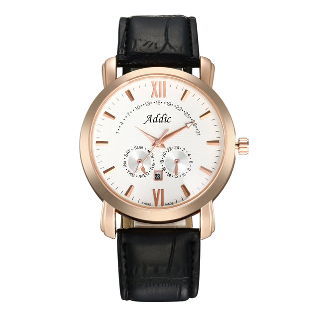 Addic His Royal Highness Rose Gold Luxury Watch