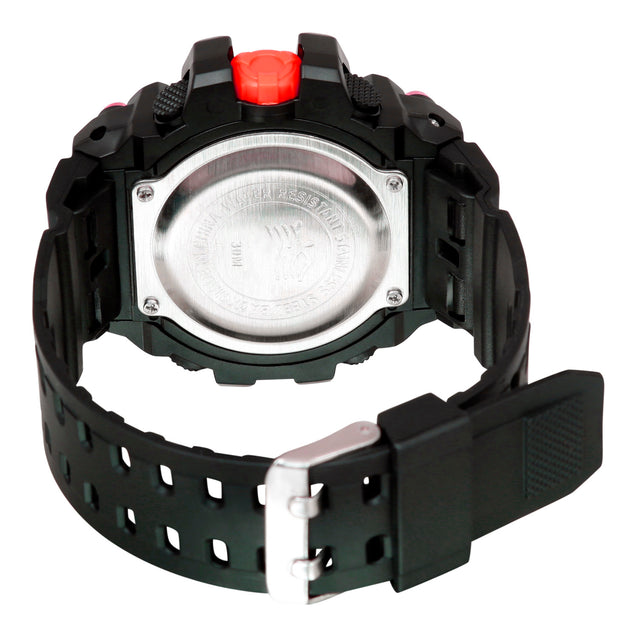 Time Warp Danger Zone White Digital Multi Function Wrist Watch For Men & Boys