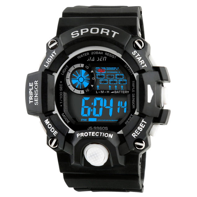 Time Warp Runner's Day Date Digital Multi Function Wrist Watch For Men & Boys