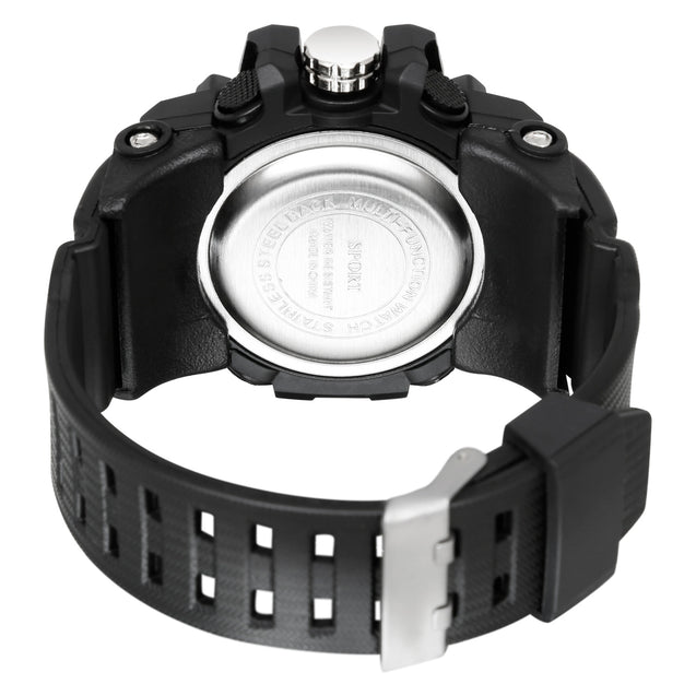 Time Warp Grey Speed Analog Digital Multi Function Wrist Watch For Men & Boys