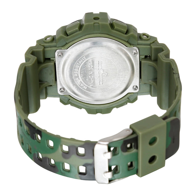 Time Warp Army Camoflague Digital Multi Function Wrist Watch For Men & Boys