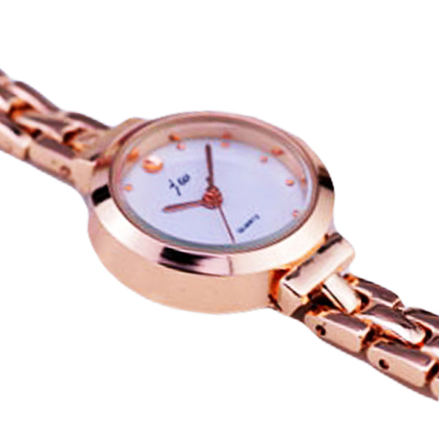 Addic Gorgeous Collection Luxury Rose Gold Chain Girls & Women's Watch.