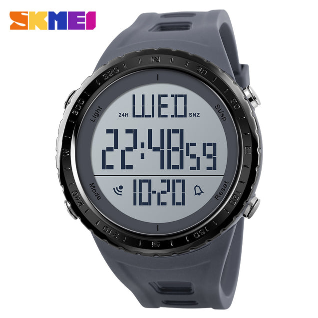 Skmei Grey Digital Multifunctional Outdoor Sports Men's & Boys Watch.