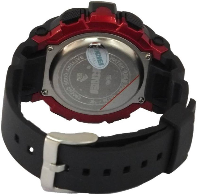 Skmei Multifunction Red Black Dial Digital Sports Watch For Men's & Boys.
