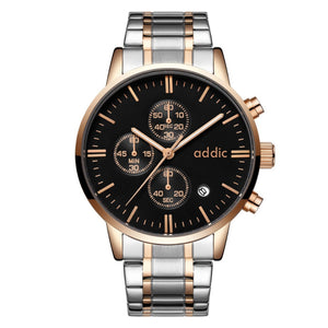 Addic Epitome Of Class Regal Men's Chronometer Watch - Black