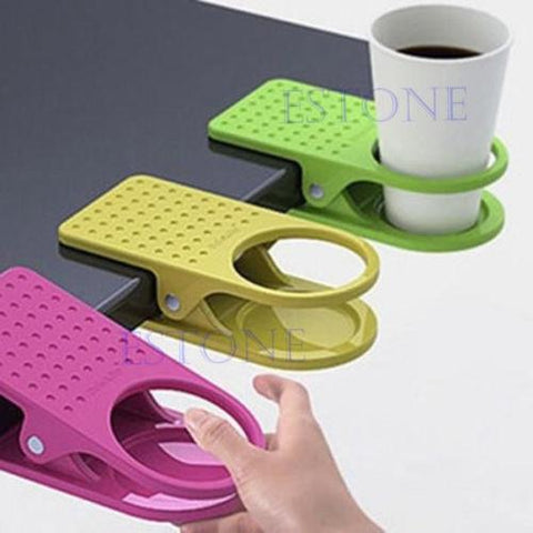 Cup Holder Desk Clips