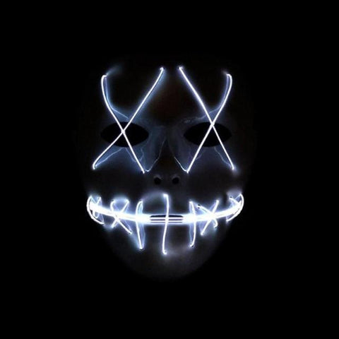 HALLOWEEN LED MASK – CHOOSE YOUR STYLE