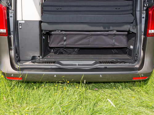 Mercedes Benz Marco Polo Campervan Rear Bumper Black protection film for varnished bumpers Mercedes-Benz V-Class