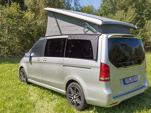 Mercedes Benz Marco Polo Campervan Rear Venting Windows AIRSCREEN ® for the right revolving window Mercedes-Benz V-Class / Marco Polo