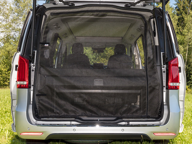 Mercedes Benz Marco Polo Campervan Mosquito Net FLYOUT tailgate opening Mercedes-Benz V-Class MP HORIZON & ACTIVITY (2014 ➞)